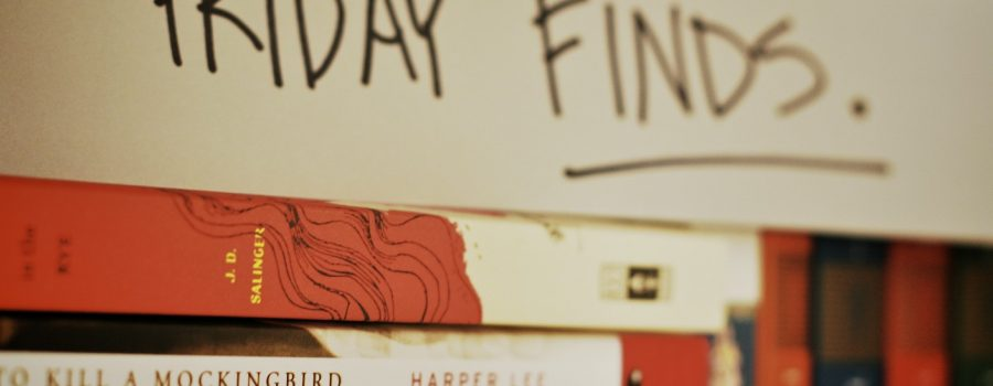 Friday Finds: Good Reads