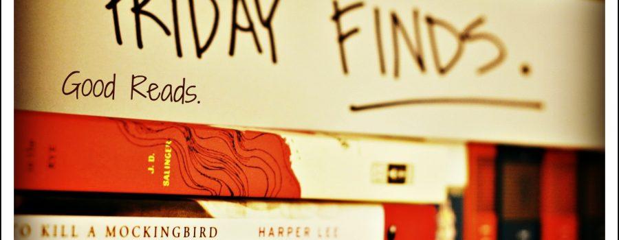 Friday Finds: Mmm Mmm Good