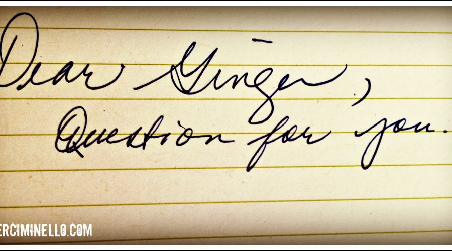 Dear Ginger: How do you rest, practically speaking?